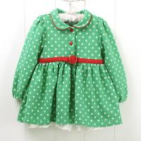 Cheap Fashion Cotton and Polyester combo Sleeveless Cute knit baby dress for toddler, kids wholesale