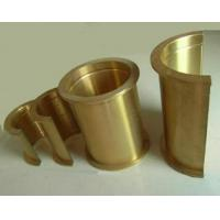 Buy cheap C86300 material Self-lubricating half bronze bush with Graphite from wholesalers