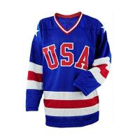 Cheap Breathable Blue Color Ice Hockey Clothing Shirts & Tops Eco Friendly wholesale