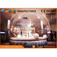 Cheap Custom Christmas Inflatable Human Snow Globe For Christmas Decoration  wholesale