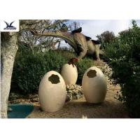 Cheap Animatronic Giant Dinosaur Eggs Models For Jurassic Park Decoration 5 Meters wholesale