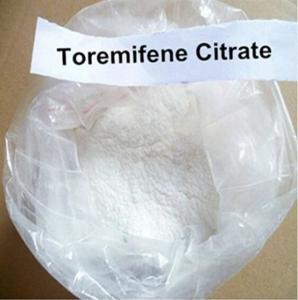 Cheap Raw Anti Estrogen Toremifene Citrate Steroid Powder 99% CAS 89778-27-8 for Bodybuilding wholesale