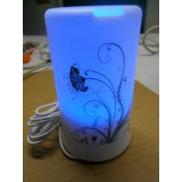 Cheap Tabletop Humidifier, Ultrasonic Essential Oil Diffuser With Blue Led Light wholesale