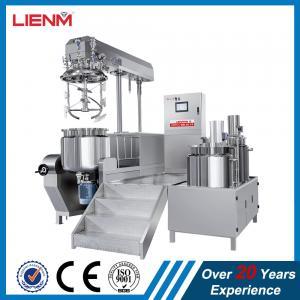 Cheap Titling Vacuum Emulsifying Machine Cosmetic Cream Mixer 100L 50L 200L 300L 500L 1000L wholesale