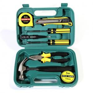 Cheap 9PCS Mechanics Tool Set Professional Hand Tools Hardware Tool Kit wholesale