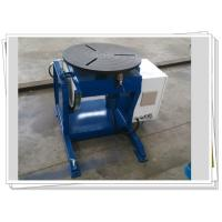 Buy cheap Pipe Automatic Rotary Welding Positioners Manual Tilt 300kg Weldment from wholesalers