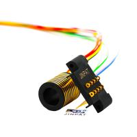 Cheap 10 Circuits Electric Slip Ring 100rpm Speed Transmitting 2A For OEM Machinery wholesale