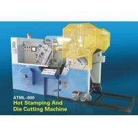 Automatic Foil Stamping and Die Cutting Machine model ATML-800