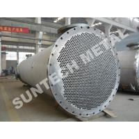 Titanium Gr.2 Cooler / Shell Tube Heat Exchanger for Paper and Pulping Industry