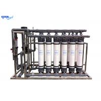 Cheap UF Borehole Water Treatment Ultrafiltration Membrane System Fiber Glass Material wholesale