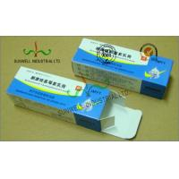 Cheap Spot UV Coating Insulated Cardboard Packaging Boxes For Pharmaceutical / Medicine wholesale