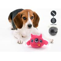 China Safe Battery Operated Dog Ball , Eco Friendly Plastic ABS Dog Training Toys on sale