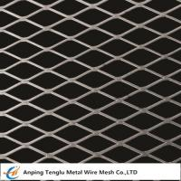 Cheap Flattened Expanded Metal Mesh Diamond Shaped Opening 0.5~6mm Thickness wholesale