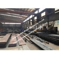 Cheap General Steel Structural Fabrication Process Cutting Splicing Welding Polishing Shot Blasting And Coating Treatment wholesale
