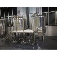 Cheap 500 L Beer Brewing Equipment , Microbrewery Equipment With Two Vessels wholesale