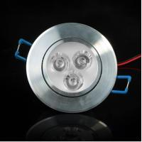 Cheap 3x1W Recessed High Bright LED Ceiling Down Light Cool White/Warm Light Energy Saving wholesale