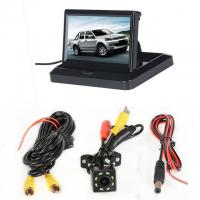 """Foldable Design Car Rearview LCD Monitor 5"""" Display In - Dash Placement"""