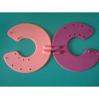 115MM silicone conductive elctrode for tens unit,red sillicone electrode