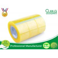 Cheap Pressure Sensitive BOPP Packing Tape Strong Adhesive Single Sided Clear Shipping Tape wholesale