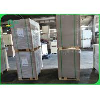 China 230gsm 250gsm Clay Coated Duplex Board Grey Back For Carton Box Good Stiffness on sale