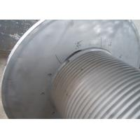 Cheap Grey Offshore Winch , Wire Rope Drum Carbon Steel / Aluminium Alloy / Stainless Steel Materials wholesale
