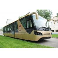 China Professional 13 Seat Airport Coaches Apron Bus With Cummins Engine on sale