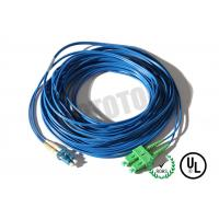 Dark Blue Jacket, LC-SC Connector Fiber Patch Cord, SM OS2 BI, 2 Fiber Zip 2mm OFNR