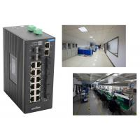 Cheap industrial 28 Port Switch with 4 gigabit SFP fiber ports and 4 megabit TX ports VS 14 megabit TX ports wholesale