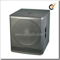 Cheap 18 inch Active Painting Subwoofer 98dB Speaker Cabinet Wooden Speaker (PS-1850W) wholesale