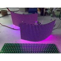 Cheap P8mm Flexible Led Screen Smd Module / Video Creative Background Foldable Led Display wholesale