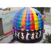 Cheap Crazy Air Music Commercial Bouncy Castles For Dancing Customized wholesale