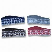 Cheap Jacquard Headbands, Made of 100% Acrylic, Available in Various Colors wholesale
