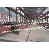 Cheap Q345B H Section Beam & Column Structural Steel Fabrication For Commercial & Industrial  Buildings wholesale