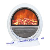 Cheap Custom White Safety PTC Fan Heater Electralog Electric Fireplace 230V / 240V wholesale