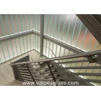 Cheap Low Iron Tempered U Shaped Glass 262(W)X60(H)X7(T) Mm Dimension Building Material wholesale
