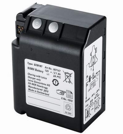leica battery geb187