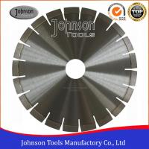 Cheap Silver Brazed Diamond Stone Cutting Disc , Dry Cut Saw Blade 300-1600mm  wholesale