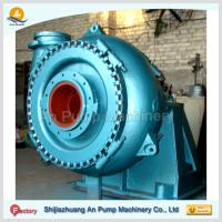 Cheap Centrifugal dredging sand pump with gear box wholesale