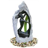 Cheap Outside Garden Statue Water Fountains With Fiberglass / Cement / Magnesia Material wholesale
