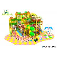 Cheap PVC Soft Cover Indoor Infant Playground , Large Indoor Playground For Communities wholesale