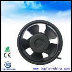 Cheap 7 Inch Dc Axial Fans / High Air Flow Low Niose Computer Cabinet Fan 172mm x 172mm x  51mm wholesale