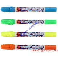 Cheap Promotional Stationery Watercolor Drawing Pen with two side for kids use wholesale