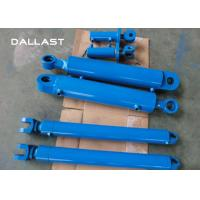 Cheap Customized Telescopic Double Acting Cylinder for Excavator / Trailer / Truck wholesale
