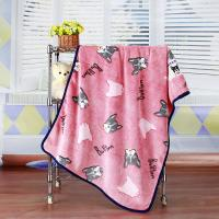 """Cheap Anti Static Anti Pilling Dyed Cutting Flannel Beautiful Baby Blankets 30""""*40"""" wholesale"""