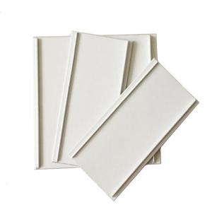 Cheap White Color Aluminum Trim Profiles 80mm Width PE Coated Easy Operation Aluminum Trim Profiles wholesale