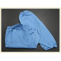 Cheap Cleanroom Protection Oversleeve 65% polyester + 32% cotton + 3% conductive wire wholesale