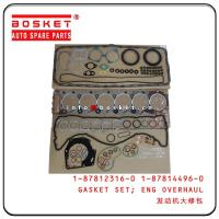 Cheap 1878123160 1878144960 Engine Overhaul Gasket Set For Isuzu 6HK1 FVR34 1-87812316-0 1-87814496-0 wholesale