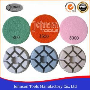 "Cheap 50 Grit 3"" Granite Concrete Diamond Sanding Pads  Removing Scratches wholesale"
