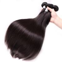Cheap 100% Brazilian Virgin Hair Straight , Silky Soft Brazilian Straight Hair Bundles  wholesale