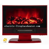 Cheap Log Flame Effect Living Room Electric Fireplace Chimney Free Electric Fireplaces wholesale
